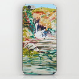 Source of the NILE             by Kay Lipton iPhone Skin