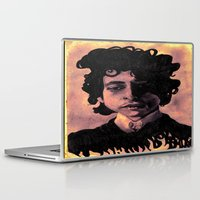 60s Laptop & iPad Skins featuring Bob Dylan (60s style) by Catheriney