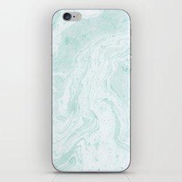 Seaforam Marble Print iPhone Skin