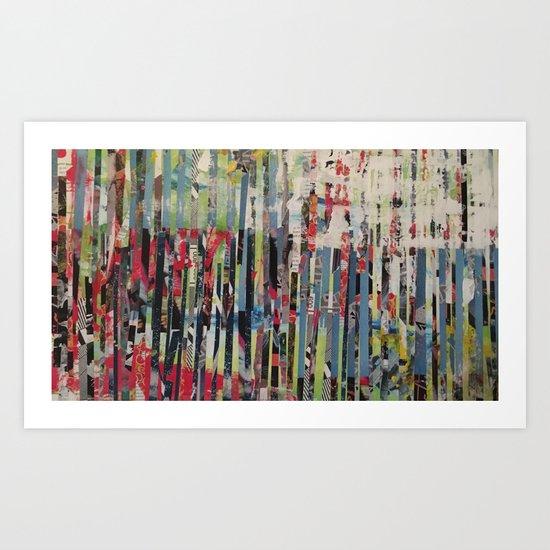 STRIPES 34 Art Print