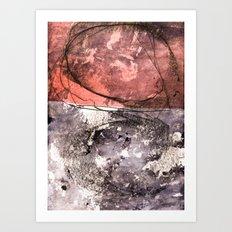 lines & texture 4 Art Print