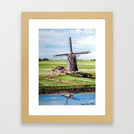 Texel Island, Holland Framed Art Print