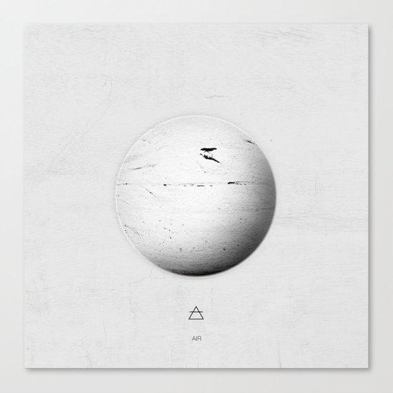Element: Air Canvas Print