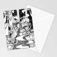 And she danced all night long... Stationery Cards