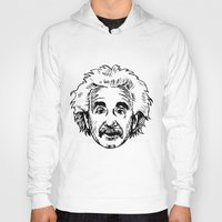 einstein Hoodies featuring EINSTEIN by James Vickery