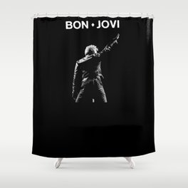 BON JOVI IN LIVE CONCERT CUPU Shower Curtain