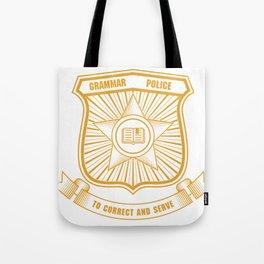Grammar Police, Comma Unit Tote Bag