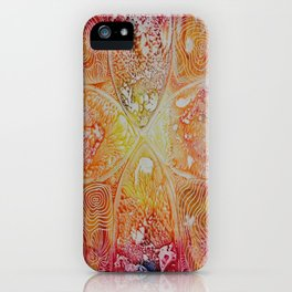 Heat Radiation iPhone Case