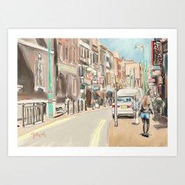 Bricklane London Art Print