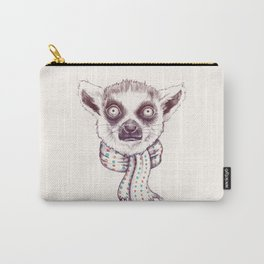 Lemur and scarf  Carry-All Pouch