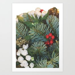 Pine bouquet Art Print