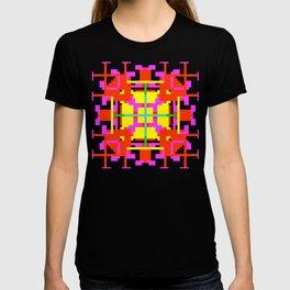 Key Lime Floral Cross Square T-shirt