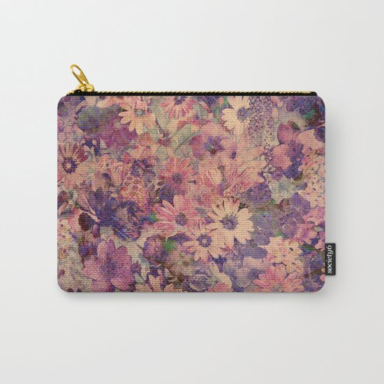 Floral Flood Carry-All Pouch
