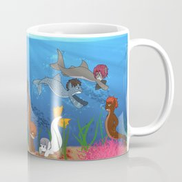 Free Eternal Summer Pony All together Coffee Mug