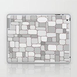 Stone Wall #4 - Grays Laptop & iPad Skin