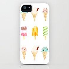 ice cream selection iPhone (5, 5s) Slim Case