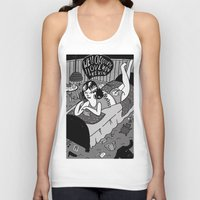 kevin russ Tank Tops featuring Kevin by Holly van Who
