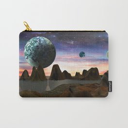 Alien World Carry-All Pouch