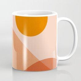 Abstraction_Mountains_Beach_Minimalism_001 Coffee Mug