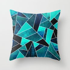 Wild Ocean Throw Pillow