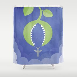 Venus Skytrap Shower Curtain
