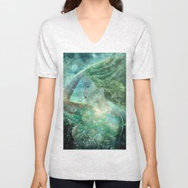 Coming Up For Air Unisex V-Neck