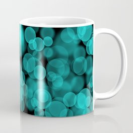 Night Lights Green Coffee Mug