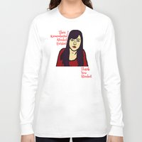 parks Long Sleeve T-shirts featuring Parks April Thanks Alcohol by Rachcox