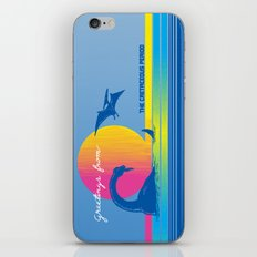 Greetings From The Cretaceous Period iPhone & iPod Skin