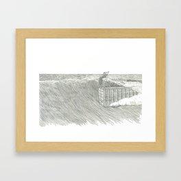 Cheater 5 on a 45' Framed Art Print