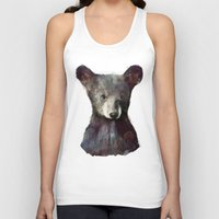 robin Tank Tops featuring Little Bear by Amy Hamilton