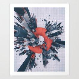 BATTERIES (everyday 02.09.17) Art Print