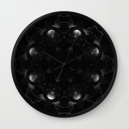 Mandala Obscura Wall Clock