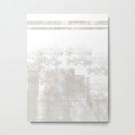 Elegant gray white #103 Metal Print