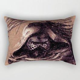 Ominous Kylo Ren Rectangular Pillow