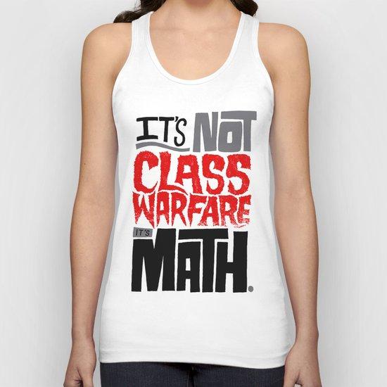 It's Math Unisex Tank Top