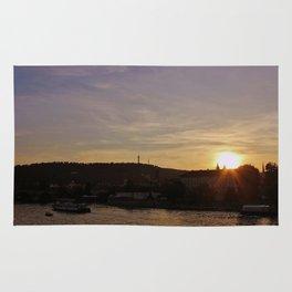 Vltava Sunset Rug