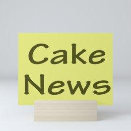 Cake News - Allusion to May in Salzburg Mini Art Print
