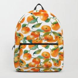Mandarins With Leaves Backpack