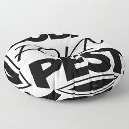 Buda fckn pest Floor Pillow