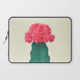 Red Plaid Cactus Laptop Sleeve