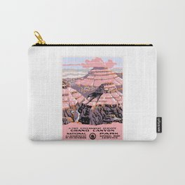 1938 Grand Canyon National Park Travel Poster Carry-All Pouch