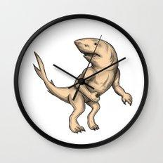 Nanaue Fighting Stance Tattoo Wall Clock