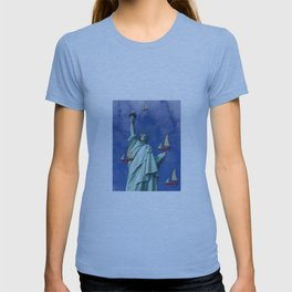 Racing to Freedom with May - shoes stories T-shirt