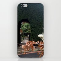 aelwen iPhone & iPod Skins featuring Behind the Gate by Chris' Landscape Images & Designs