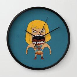 Screaming He-Man Wall Clock