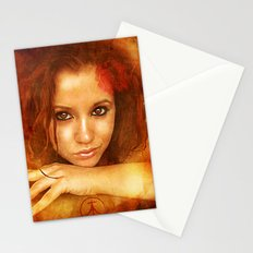 Badly Drawn Girl Stationery Cards