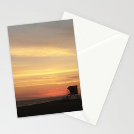 Beach Days end off duty Stationery Cards
