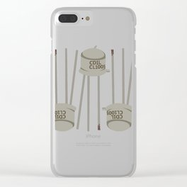 Metallic transistor PATTERN2 Clear iPhone Case