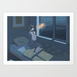 Leonids Art Print